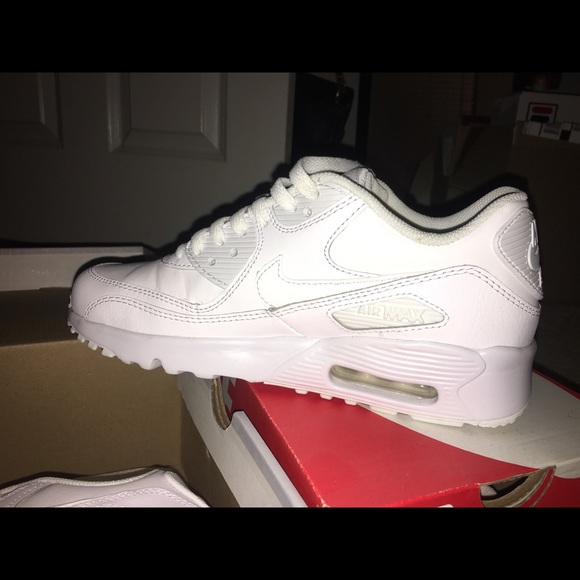 nike air max 90 size 6 white